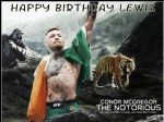 A4 Personalised UFC Conor McGregor Edible Icing or Wafer Cake top topper